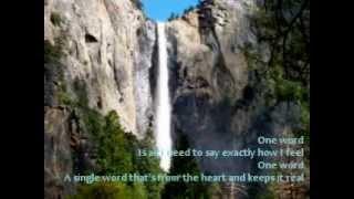 Download One Word - Elliott Yamin Lyrics MP3 song and Music Video