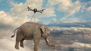 Die verrücktesten Drohnen der Welt!