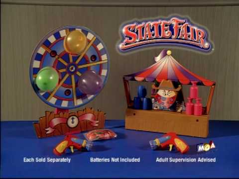 State Fair Shooting Gallery Commercial