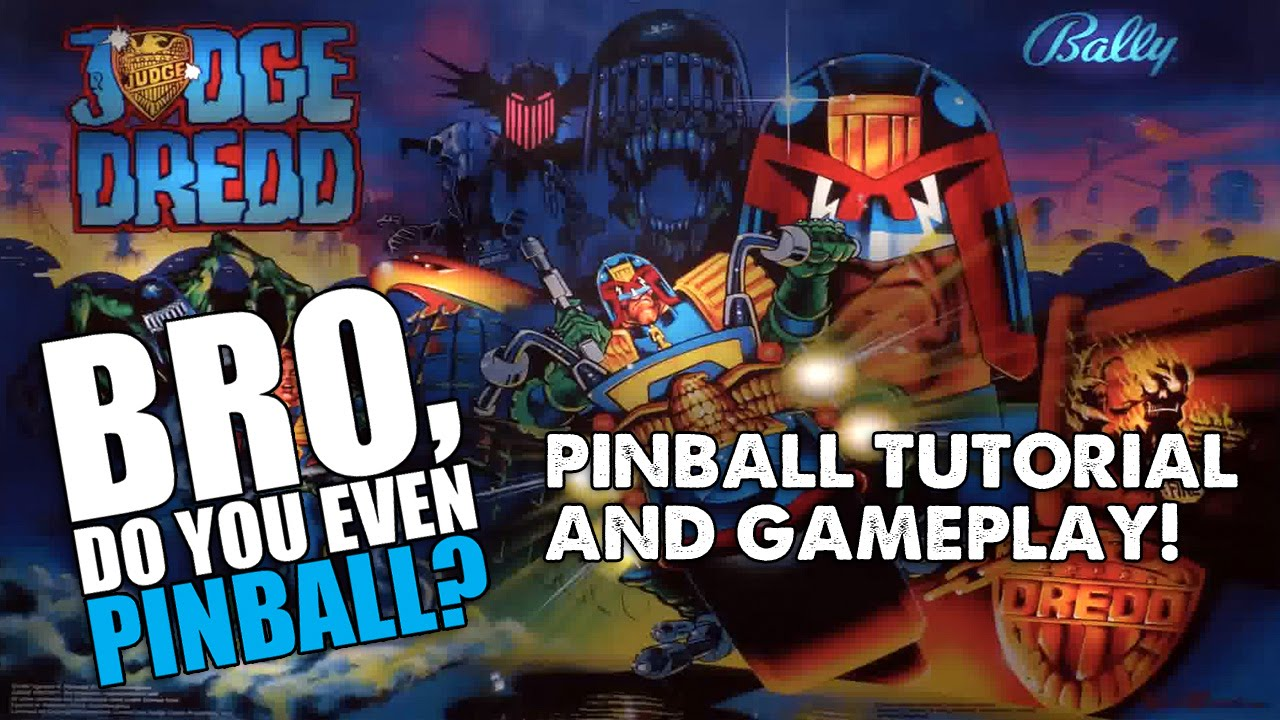 Judge Dredd pinball (Bally 0f6432b6653