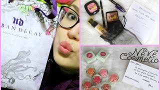 Collabhaul INASPETTATO! Loreal, Neve cosmetic, Urban decay | ilamakeup02♡