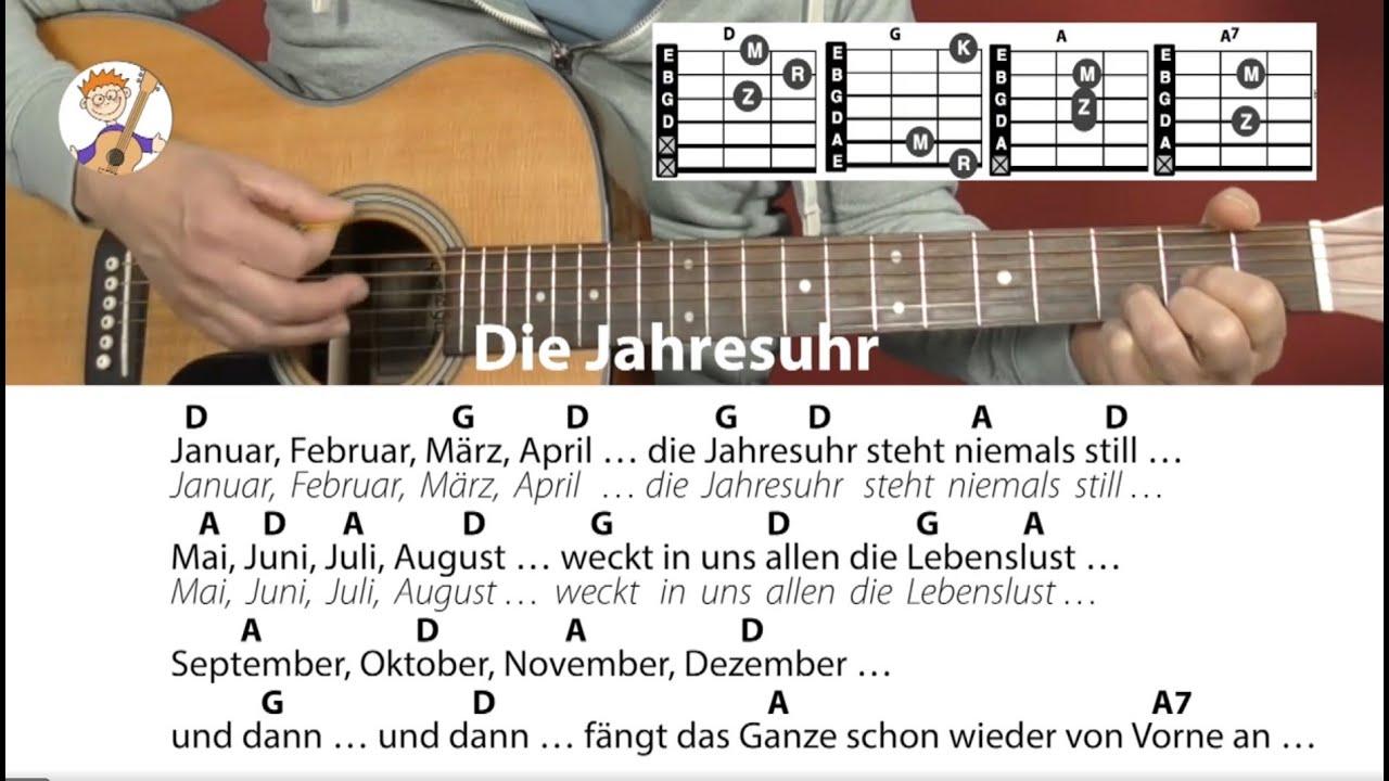 Die Jahresuhr - Rolf Zuckowski, Jahreszeitenlied, Cover ...
