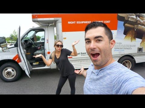MOVING DAY + FIRST DAY IN OUR NEW HOME! | ALEX AND MICHAEL