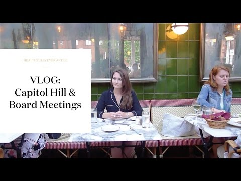 VLOG: Nutrition Conferences, DC Dining | Healthfully Ever After