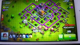 comment faire une belle attaque sur clash of clans????????