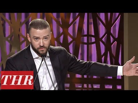 Justin Timberlake Presents LMU Scholarships at The Hollywood Reporter&39;s Women in Entertainment