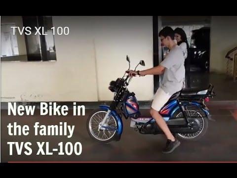 Tvs Xl 100 Youtube