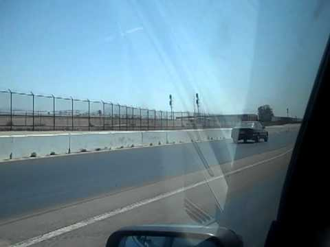 In Car e34 525i Wagon Vs. Mercedes 300e w124 Auto Club Dragway 6-4-11