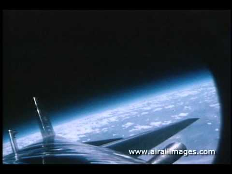 X-15 Rocket Plane Onboard Time-Lapse Motion Pictures