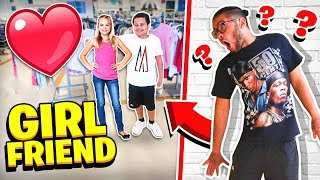SPYING On My Little Brother For 24 HOURS!! **I CAUGHT HIM WITH HIS GIRLFRIEND**