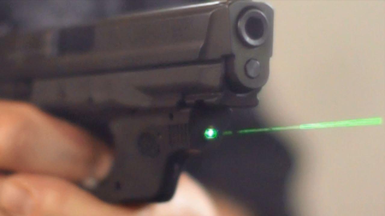 Crimson Trace's Lean, Green Lasers: Guns & Gear|S7