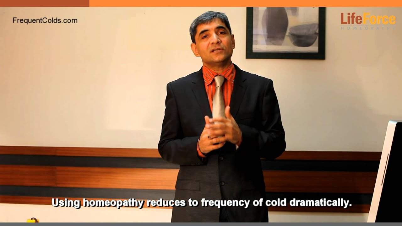 Homeopathic medicine for allergic cold and cough for child