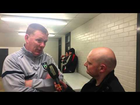 Eirgrid U21 Ulster Final Post match interview