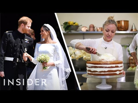 Meet Prince Harry and Meghan Markle's Wedding Cake Baker