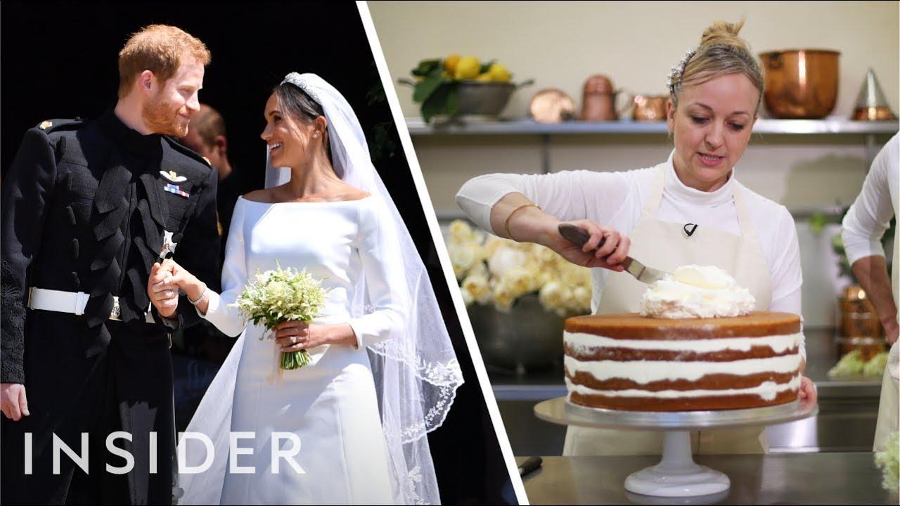 Meet Prince Harry And Meghan Markle S Wedding Cake Baker Youtube