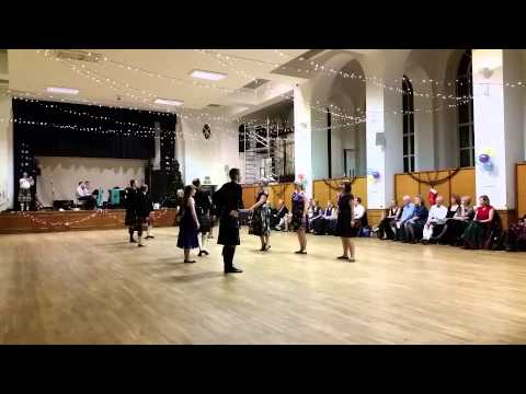 RSCDS London Branch Demonstration in memory of John Laurie- Pont St Christmas Dance 2014