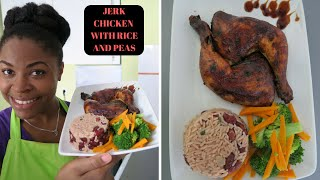 MELS  KITCHEN: JAMAICAN RICE AND PEAS WITH JERK CHICKEN