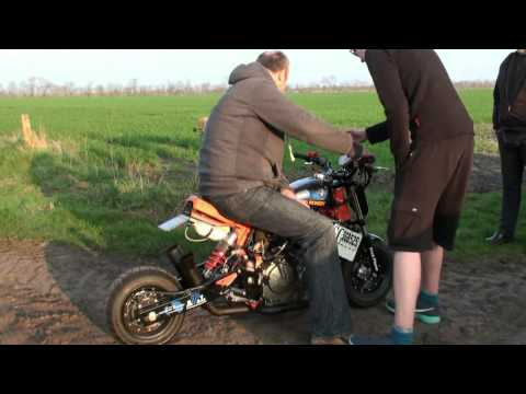 Honda Monkey With 600 Ccm With NOS Injection