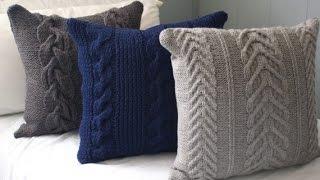 Вязаные подушки, выбираем узор для вязания Pillows(Вязаные подушки, выбираем узор для вязания. Вязаные подушки могут стать отличным дополнением для вашего..., 2016-03-14T01:17:47.000Z)