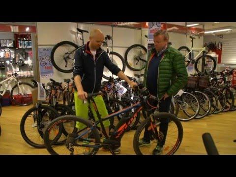 Oppgjøret mellom en Norgesmester og en El - Sykkel!