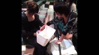 お昼公演 島田生誕祭でした!!! お手紙は優子さんからで びっくりしち...