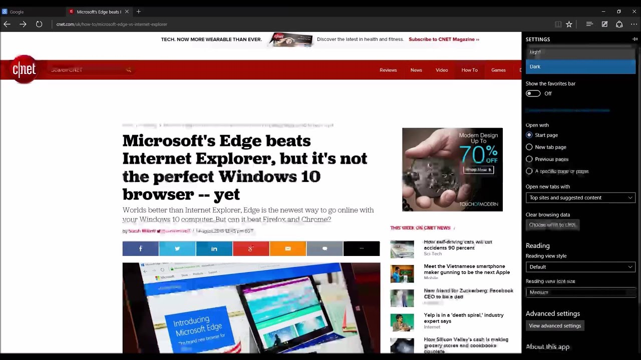 Getting Started with Microsoft Edge on Windows 10