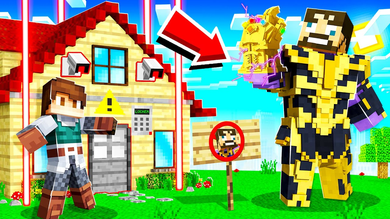 BUILDING a THANOS PROOF BASE in INSANE CRAFT!