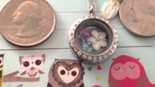 Jennylou's Silver Mini Locket From Origami Owl