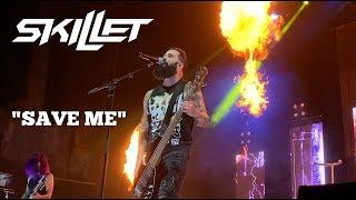 Skillet - Save me Live Victorious War Tour at PNC Pavilion in Cincinnati, OH. MattSkilletGuy.