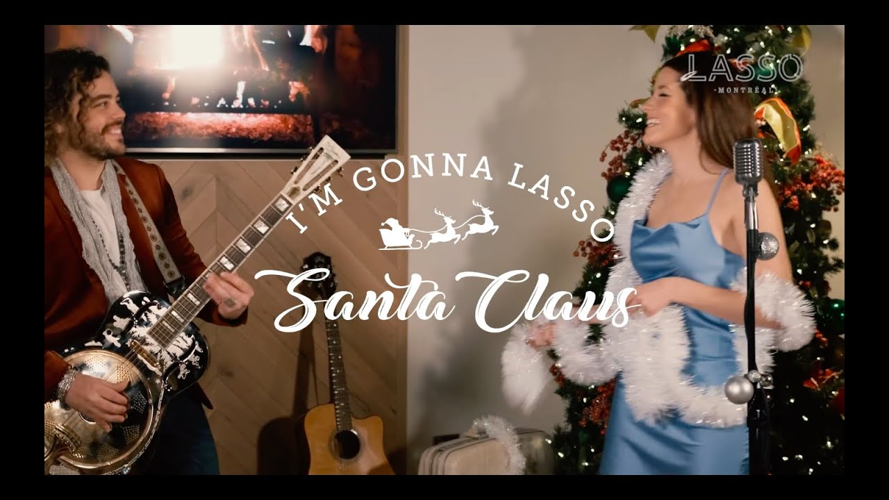 Brittany Kennell collabore avec LASSO Montréal et propose une reprise de I'm Gonna Lasso Santa Claus