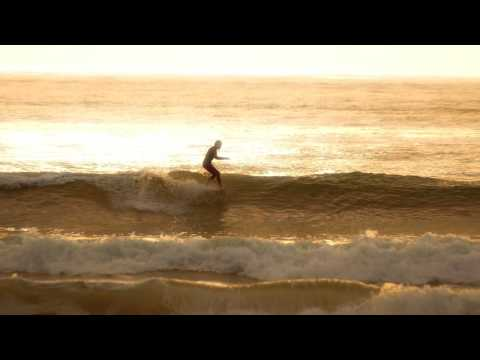 Sunset Surf Session - Llangennith, Gower Peninsula. Wales