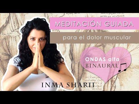 MEDITACIÓN GUIADA para el DOLOR muscular con MÚSICA ondas Alfa SONIDO binaural