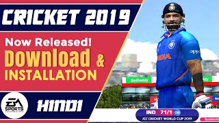 How to Download & Install EA Sports Cricket 2019 | New PC Cricket Game 2019 Download Now!