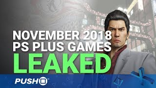 PS Plus Lineup Leaked: November 2018 | PlayStation Plus | PS+ Rumours