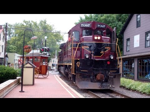 Railfanning The New Hope & Ivland Railroad in New Hope, PA