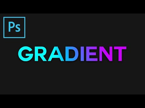 Photoshop: Gradient Text Effect [8]
