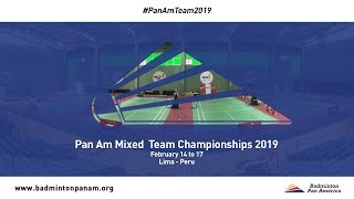 XXIII Pan Am Mixed Team Championships 2019