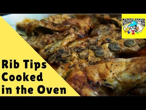 Rib Tips In The Oven