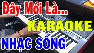 Karaoke Nhạc Sống Đặc Biệt Nhất 2019 | Lk Cha Cha Cha Dân Ca Đàn Organ Live Cực Đỉnh | Trọng hiếu