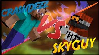 VATER SCHREIT RUM!! - CrashDezz vs. SkyGuy | King of Troll 4tel