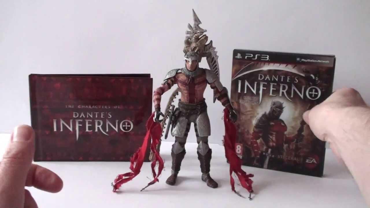 Moja Kolekcja Dante S Inferno Game Artbook And Neca Figure