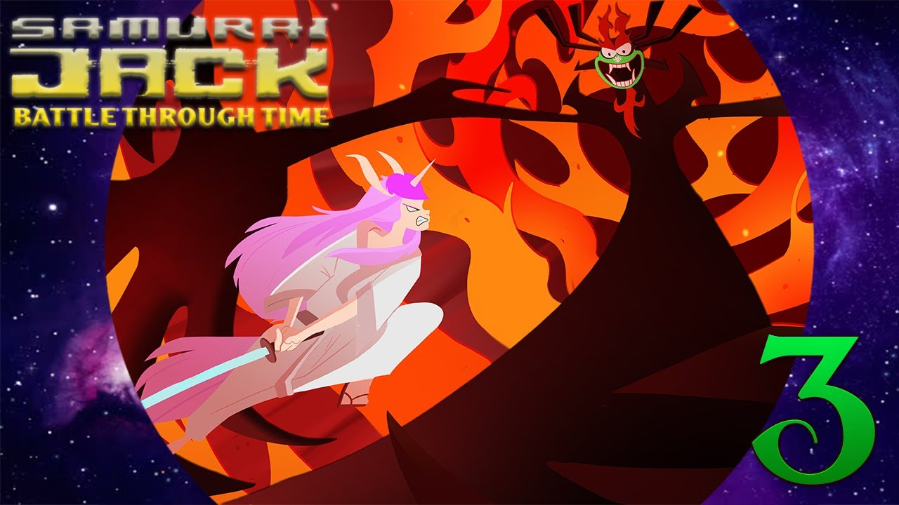 I broke her! Samurai Jack: Battle Through Time Part 3