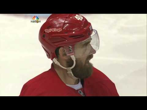 Brad Marchand and Pierre McGuire get confused by Henrik Zetterberg