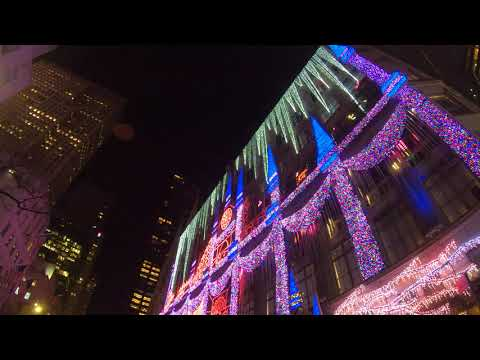 Saks Fifth Avenue Holiday 2019