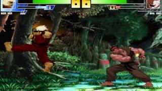 ShinSmoke's MUGEN: SF3 Riot Ken vs SF3 Evil Ryu