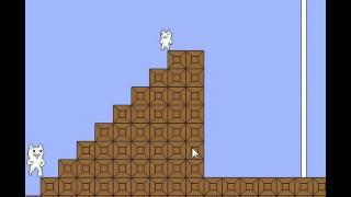 Cat Mario (symbol action) прохождение за 6 минут