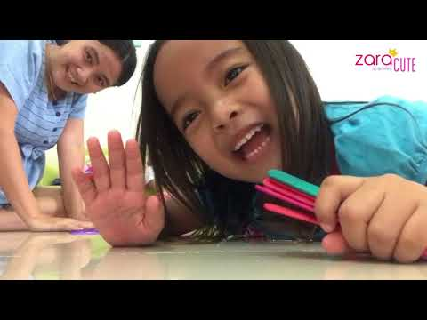 Seru Banget Permainan Stick Es Krim | Traditional Toys | Zara bermain sama Mama