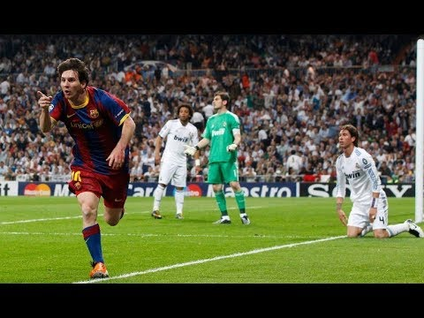 Throwback to Messi's Solo Goal against Real Madrid in 2011