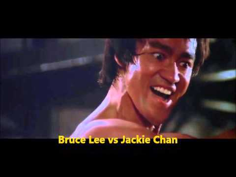 bruce lee vs jackie chan real match youtube