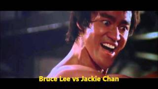 Bruce Lee vs Jackie Chan real match